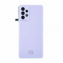 Vitre arriere Samsung Galaxy A52 5G violet