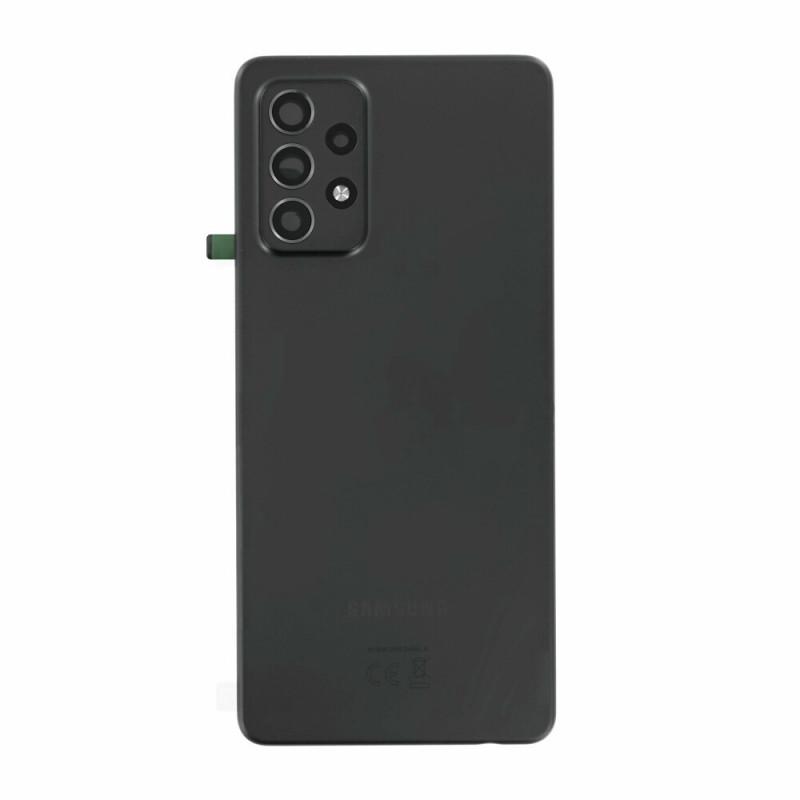 Vitre arriere Samsung Galaxy A52 5G noir