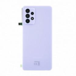 Vitre arriere Samsung Galaxy A72 violet