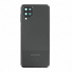 Samsung vitre arriere Galaxy A12 noir