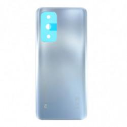 Vitre arriere Xiaomi Mi 10T Pro argent lunaire