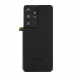 Vitre arriere Samsung Galaxy S21 Ultra 5G fantôme noir