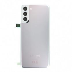 Vitre arriere Samsung Galaxy S21+ 5G argent fantôme