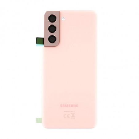 Vitre arriere Samsung Galaxy S21 5G fantôme rose