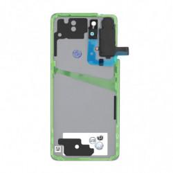 cache batterie Samsung Galaxy S21 5G fantôme rose