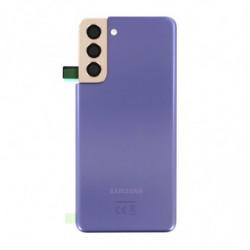 Vitre arriere Samsung Galaxy S21 5G fantôme violet