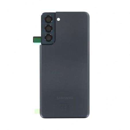 Vitre arriere Samsung Galaxy S21 5G gris fantôme