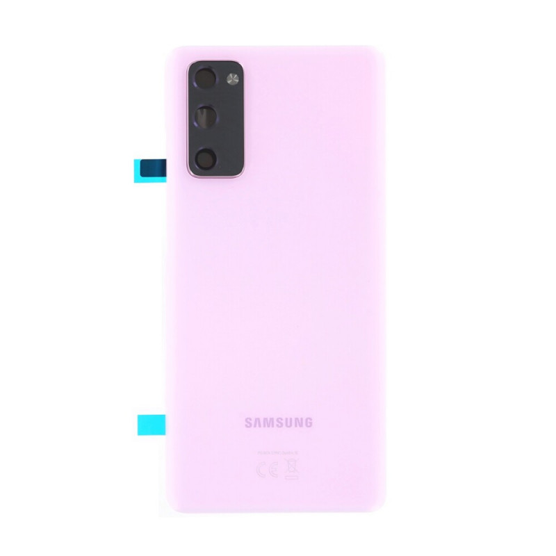 Vitre arriere Samsung Galaxy S20 FE 5G cloud lavender GH82-24223C