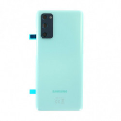 Vitre arriere Samsung Galaxy S20 FE 4G menthe nuage
