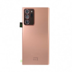 Vitre arriere Samsung Galaxy Note 20 Ultra 5G bronze