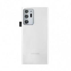 Vitre arriere Samsung Galaxy Note 20 Ultra 5G blanc