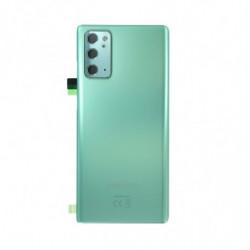 Vitre arriere Samsung Galaxy Note 20 5G vert