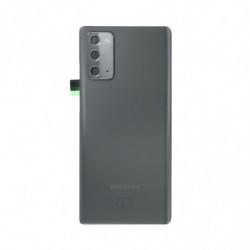 Vitre arriere Samsung Galaxy Note 20 gris