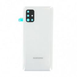 Vitre arriere Samsung Galaxy A51 5G blanche