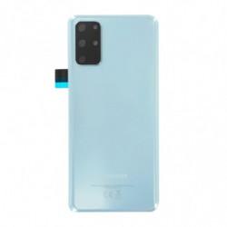 Vitre arriere Samsung Galaxy S20 Plus 4G Bleu Nuage