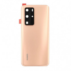 Huawei vitre arriere P40 Pro blush or