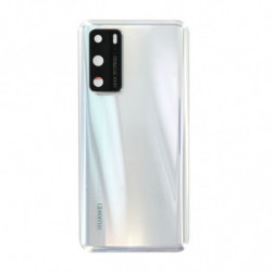 Vitre arriere Huawei P40 blanc glace