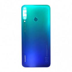 Vitre arriere Huawei P40 Lite E Aurora bleu