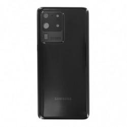 Vitre arriere Samsung Galaxy S20 Ultra Noir