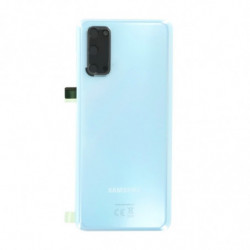 Vitre arriere Samsung Galaxy S20 4G Bleu Nuage