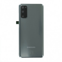 Vitre arriere Samsung Galaxy S20 4G Gris cosmique