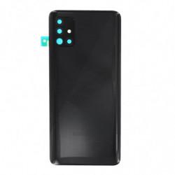 Vitre arriere Samsung Galaxy A51 prism crush noir