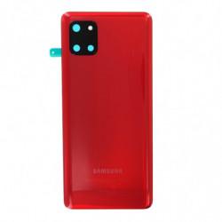 Vitre arriere Samsung Galaxy Note 10 Lite aura rouge