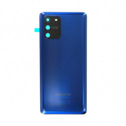 Vitre arriere Samsung Galaxy S10 Lite prisme bleu