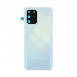 Vitre arriere Samsung Galaxy S10 Lite prisme blanc