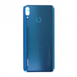 Vitre arriere Huawei Y9 2019 bleu saphir