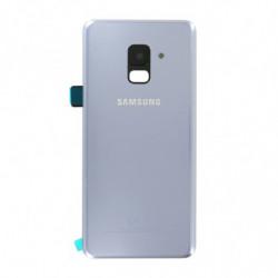 Vitre arriere Samsung Galaxy A8 (2018) grise
