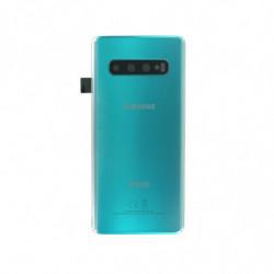 Samsung vitre arriere Galaxy S10 Duos vert