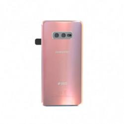 Samsung vitre arriere Galaxy S10e Duos argent