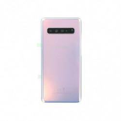 Samsung vitre arriere Galaxy S10 5G couronne argent