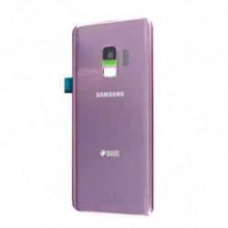 Vitre arriere Samsung Galaxy S9 Duos violette