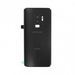 Vitre arriere Samsung Galaxy S9 Duos noir
