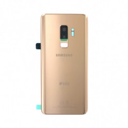 Vitre arriere pour Samsung Galaxy S9+ Duos or