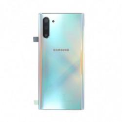 Vitre arriere Samsung Galaxy Note 10 Argent