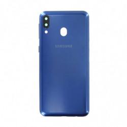 Vitre arriere Samsung Galaxy M20 bleu