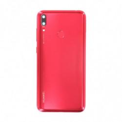 Vitre arriere Huawei Y7 2019 rouge corail
