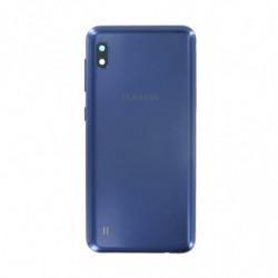 Vitre arriere Samsung Galaxy A10 bleu