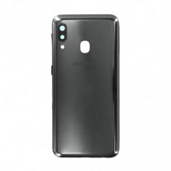 Vitre arriere Samsung Galaxy A20e noir