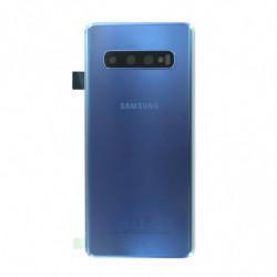 Samsung vitre arriere Galaxy S10 bleu