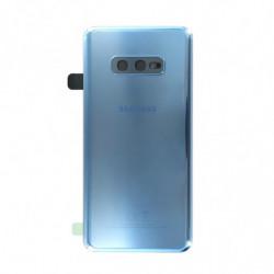 Samsung vitre arriere Galaxy S10e bleu