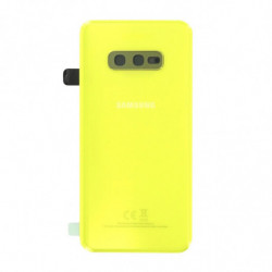 Samsung vitre arriere Galaxy S10e jaune