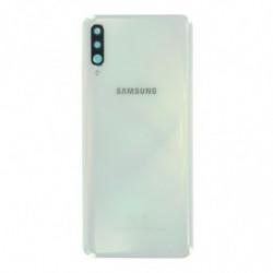 Vitre arriere Samsung Galaxy A70 blanche