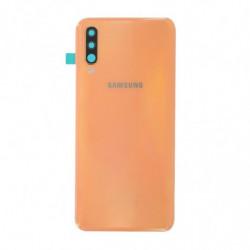 Vitre arriere Samsung Galaxy A50 corail