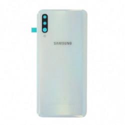 Vitre arriere Samsung Galaxy A50 blanche