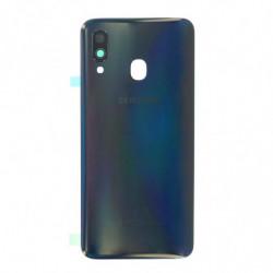Vitre arriere Samsung Galaxy A40 noir