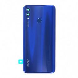 Vitre arriere pour Huawei Honor 10 Lite bleu saphir